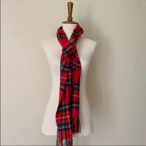 D&Y Softer Than Cashmere Plaid/Tartan Scarf